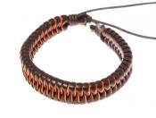 Этнические браслеты (кожаные фенечки) .